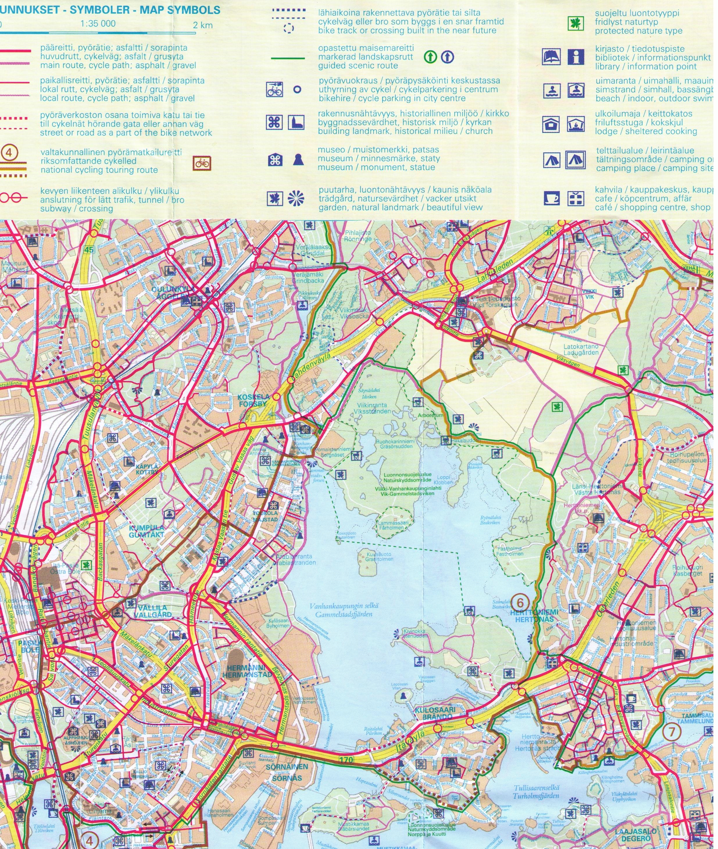 Kartta 2480 3437 Cr Helsinki Tallinna Seura R Y Hetas
