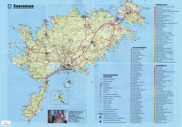 Saarenmaan kartta
