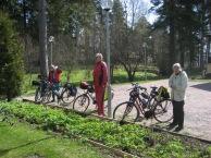Hepolaiset kävivät tutustumassa Furuvikiiin grillauksen ja saunomisen merkeissä
