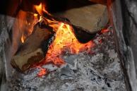 grillikatoksella tuli roihusi