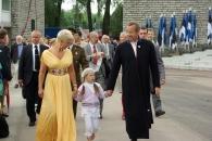 Presidentti Ilves perheineen